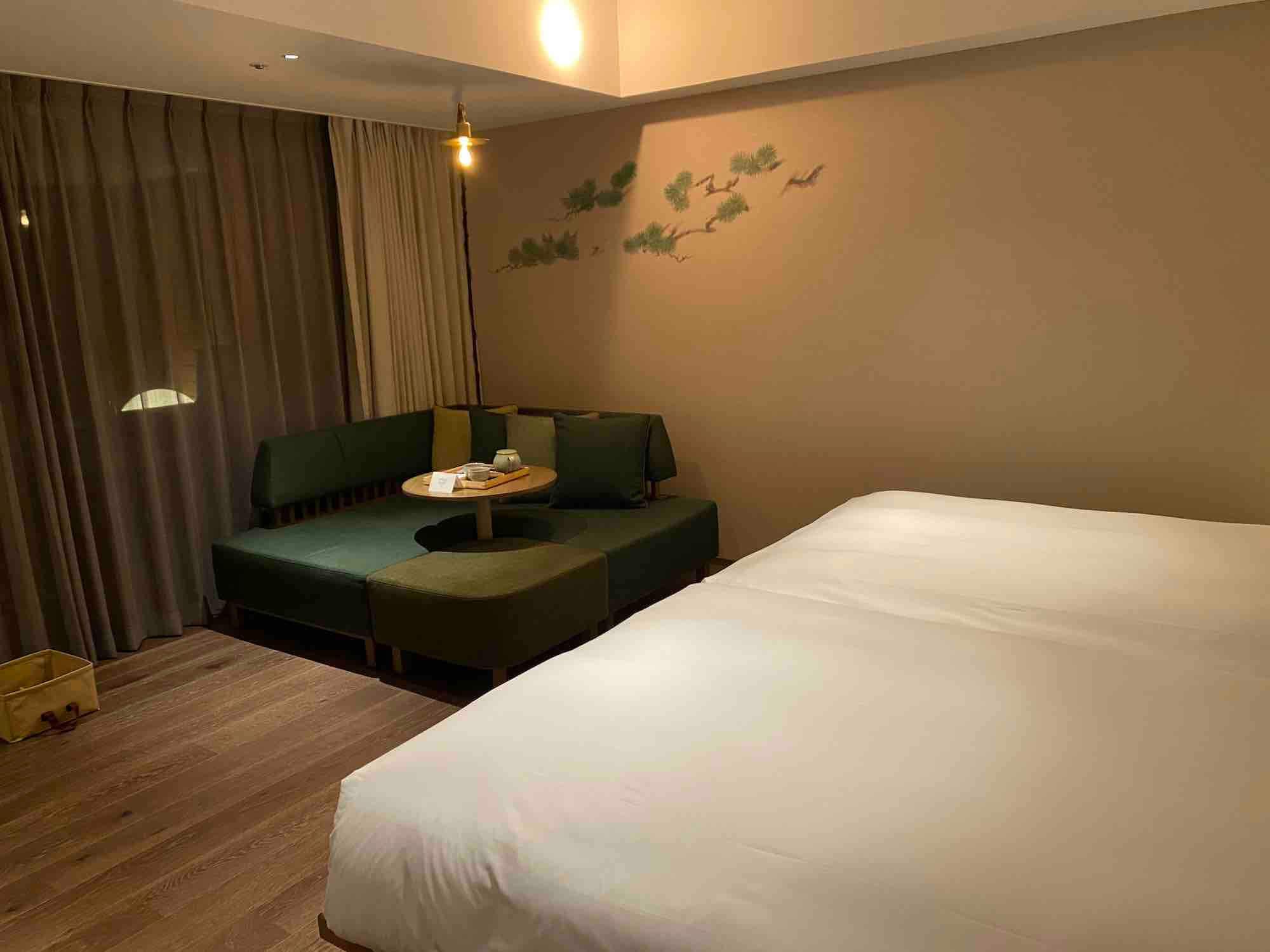 グッドネイチャーホテル無垢の床内装